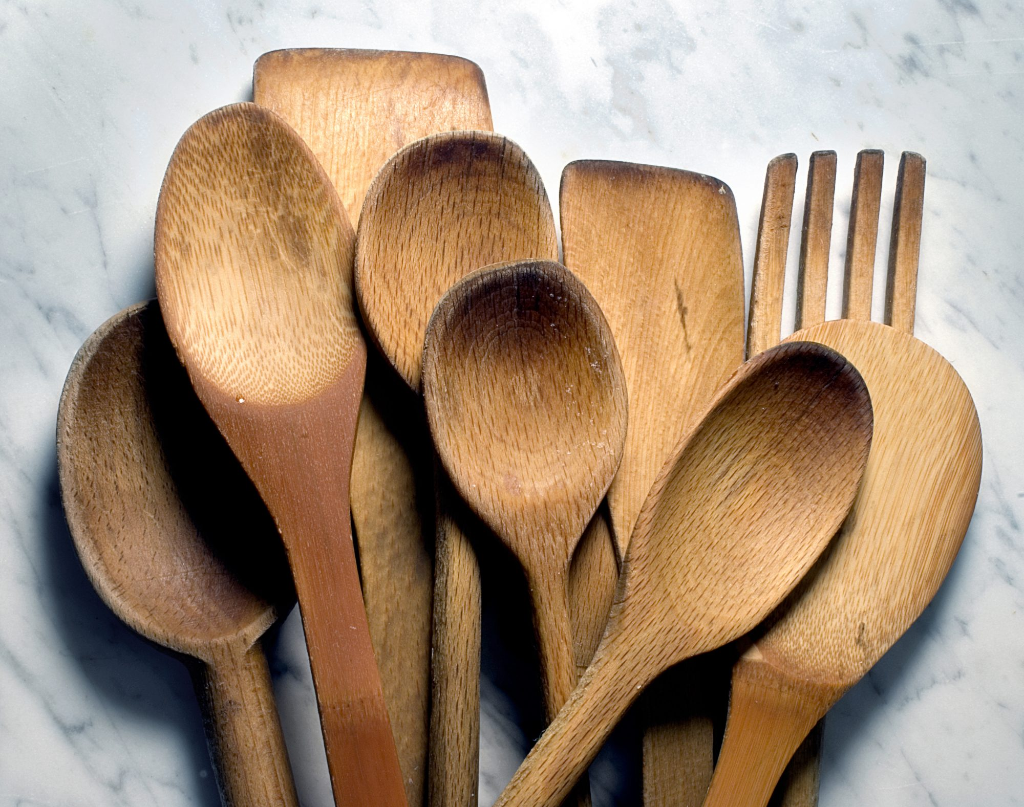 Stars /& Stripes America USA bbq cook out July4th You Pick Utensil Type 12 Hand Stamped Wooden Forks Spoons Knives Wooden Utensils Silverware