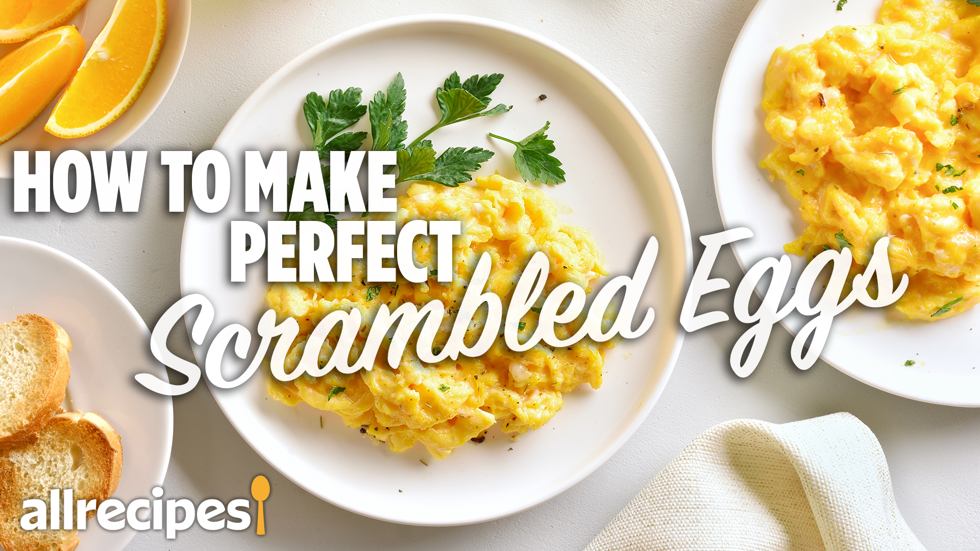 How To Make Perfect Scrambled Eggs Allrecipes