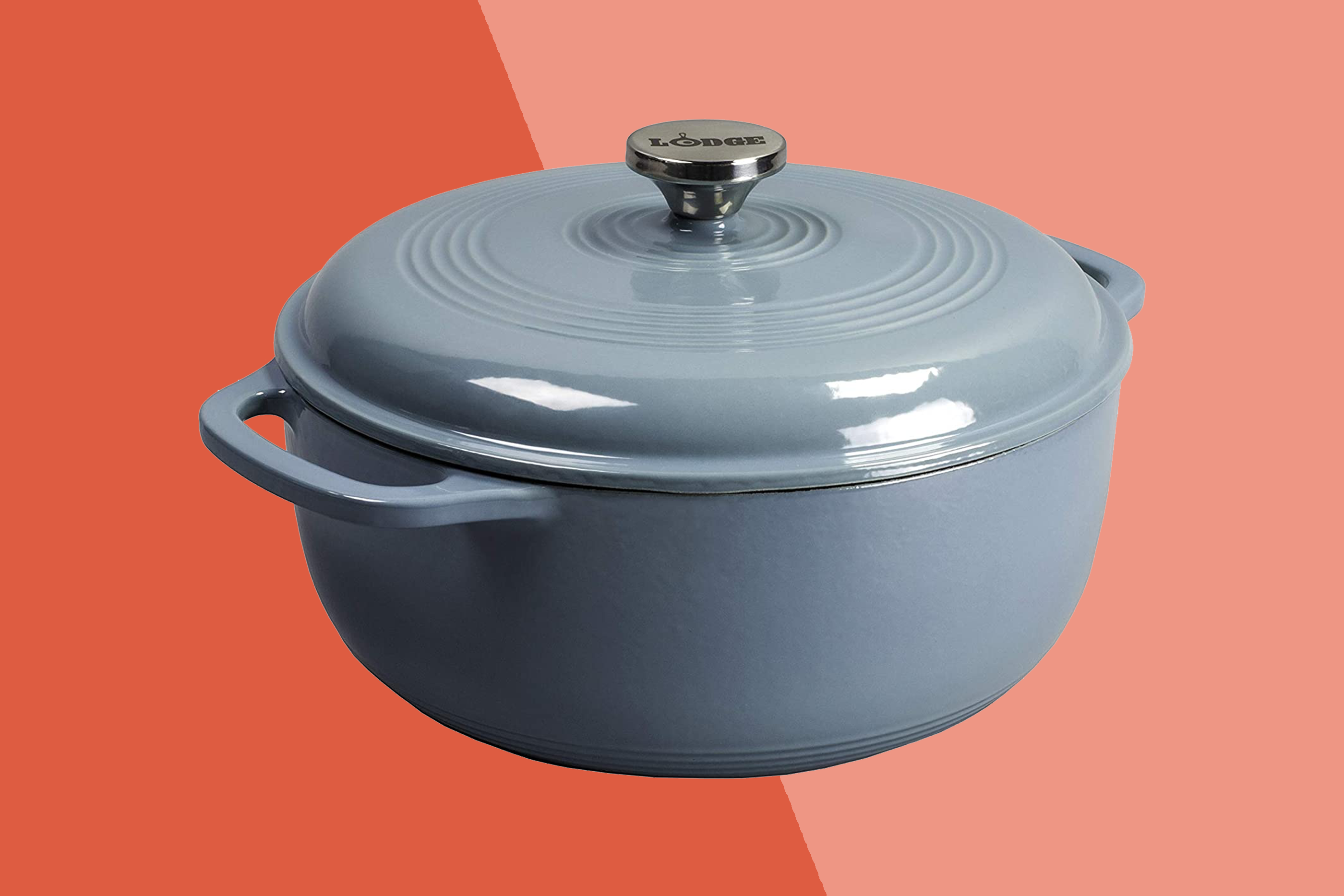 Lodge Enameled Cast Iron Dutch Oven Marked Down 56 For Amazon Prime Day Allrecipes
