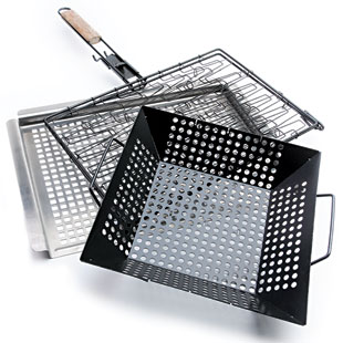 Use A Grill Basket