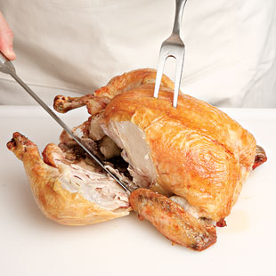 How to Carve a Whole Roasted Chicken | EatingWell