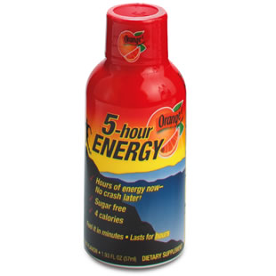Energize with Energy Drinks