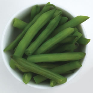 One serving of green beans