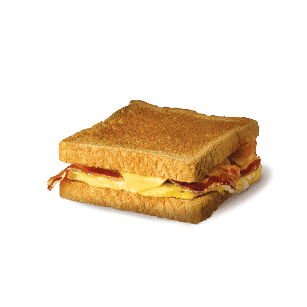 bacon, egg and cheese toast