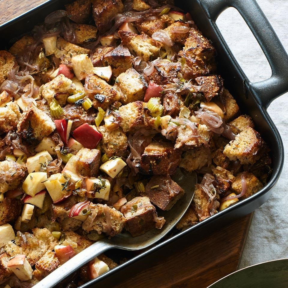Caramelized Onion & Apple Stuffing