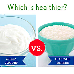 Cool Is Cottage Cheese Or Greek Yogurt A Healthier High Protein Beutiful Home Inspiration Semekurdistantinfo