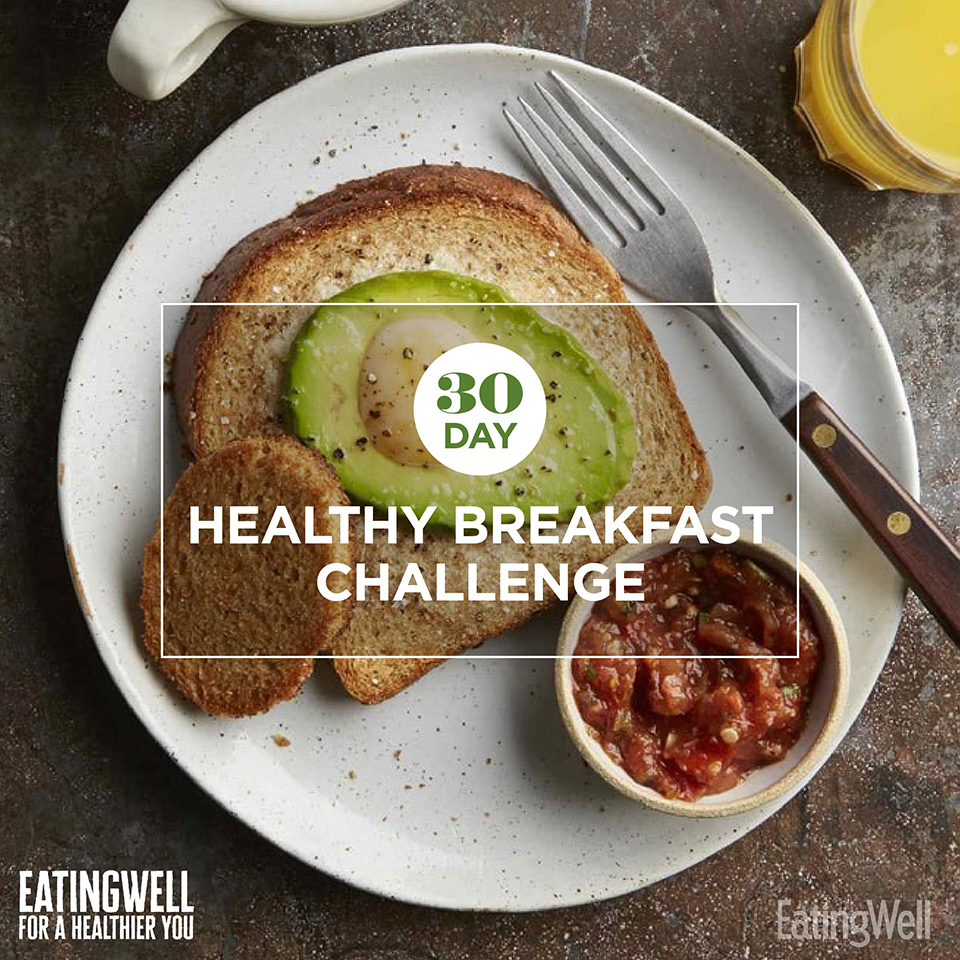 30-Day Healthy Breakfast Challenge