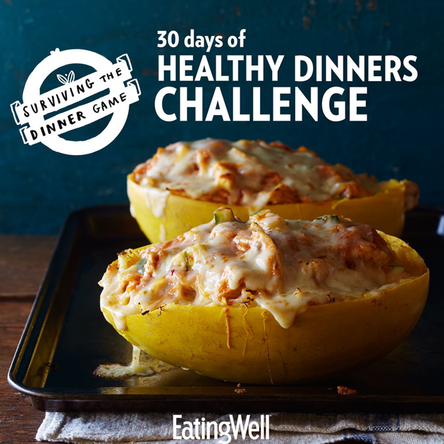 30 Days of Healthy Dinners Challenge