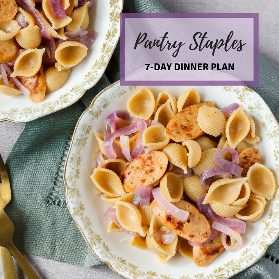 Budget-Friendly Pantry-Staples Dinner Plan