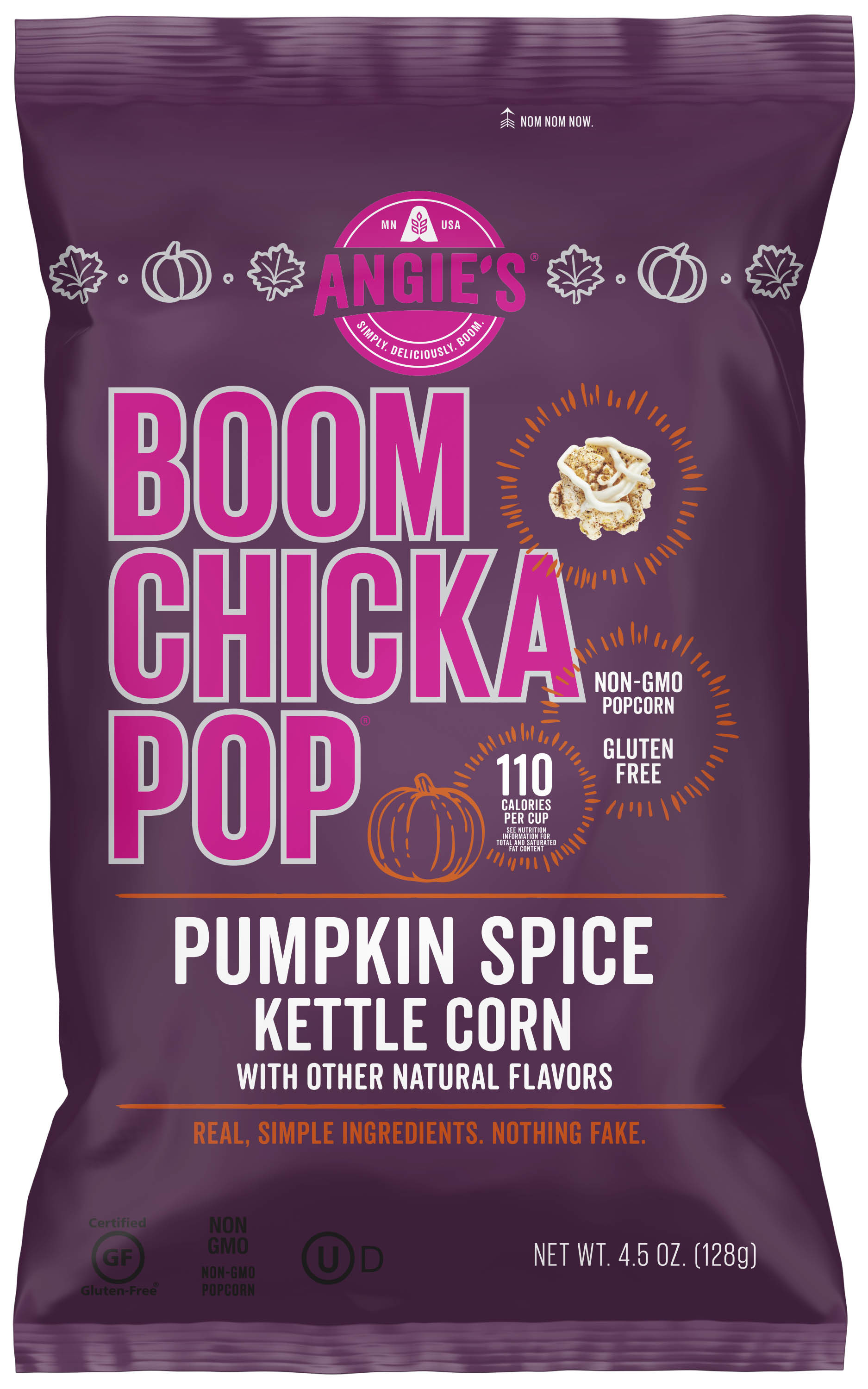Angie's Boom Chicka Pop Pumpkin Spice Kettle Corn