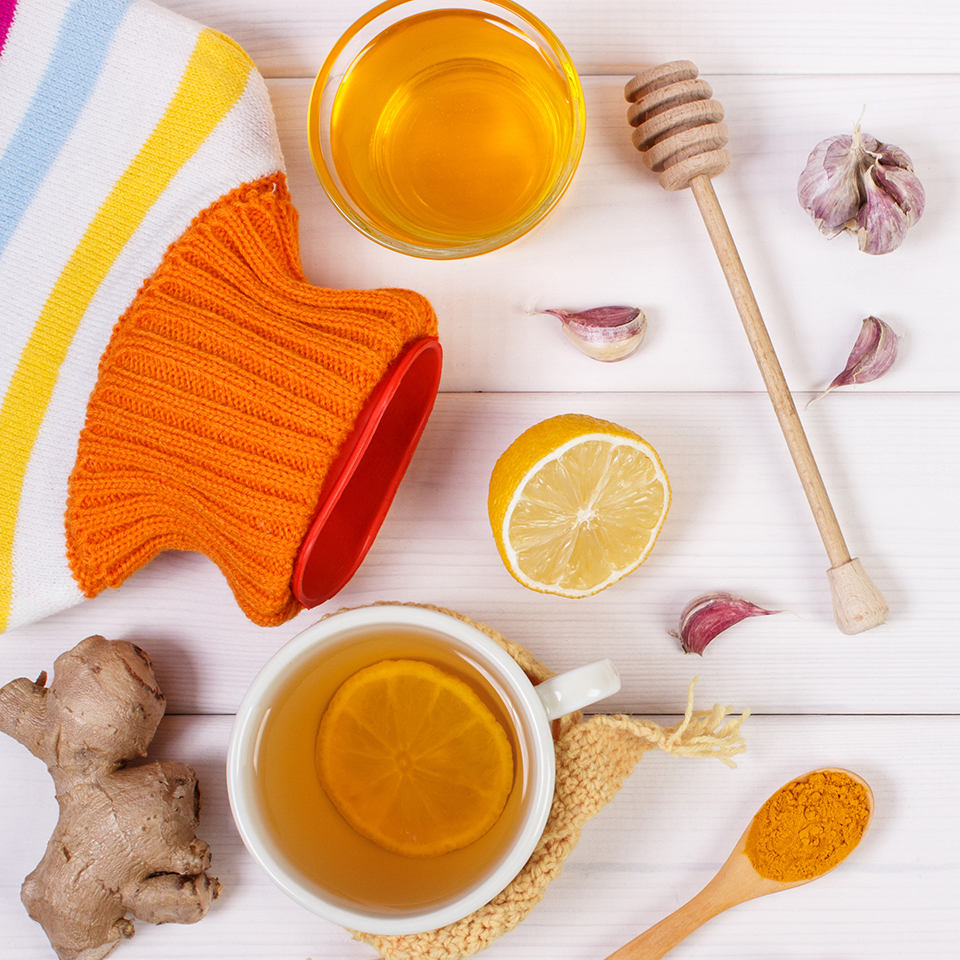 Flu-Fighting Foods You Already Have in Your Kitchen