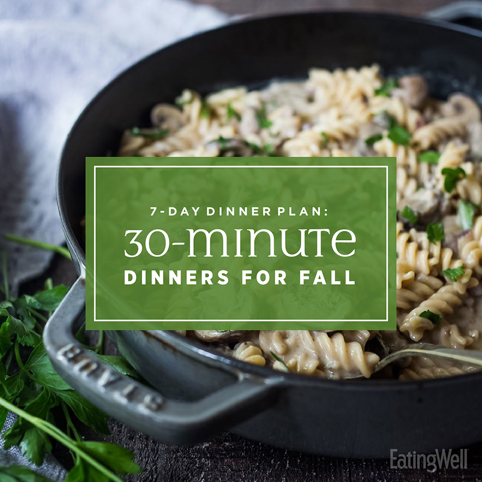30-minute dinners for Fall