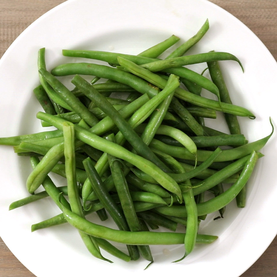 Microwaved Green Beans