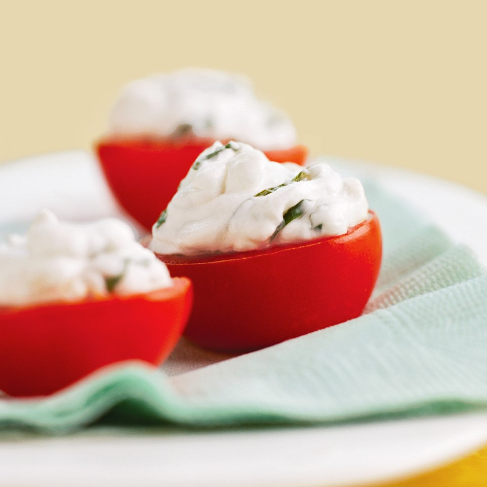 Basil-Garlic Tomatoes