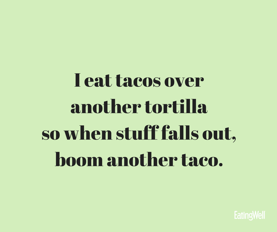 Tacos are amazing