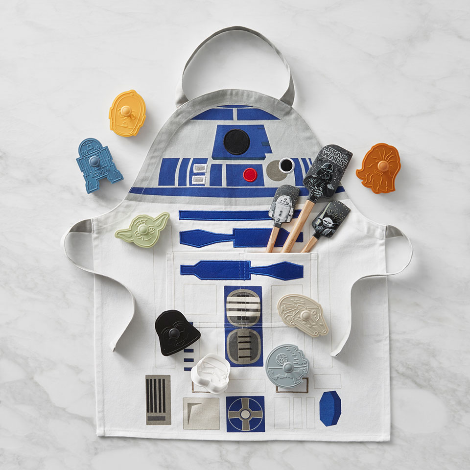 Star Wars apron and spatula set