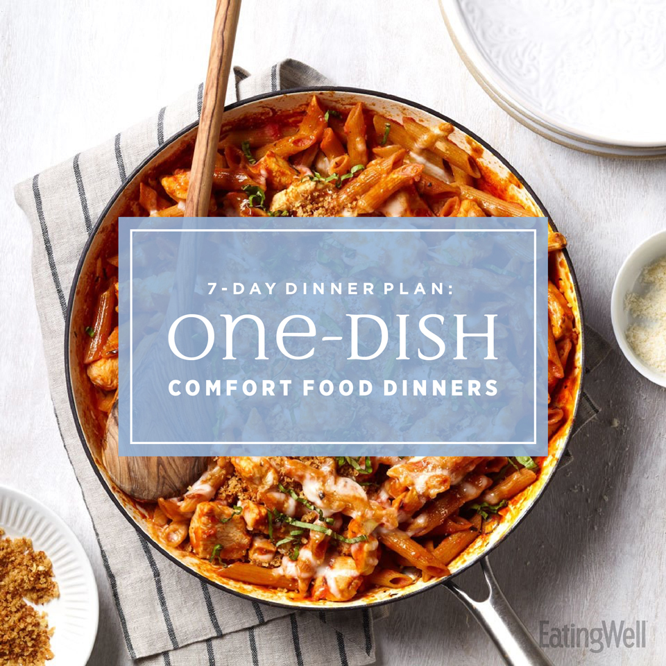 one-dish comfort food dinners