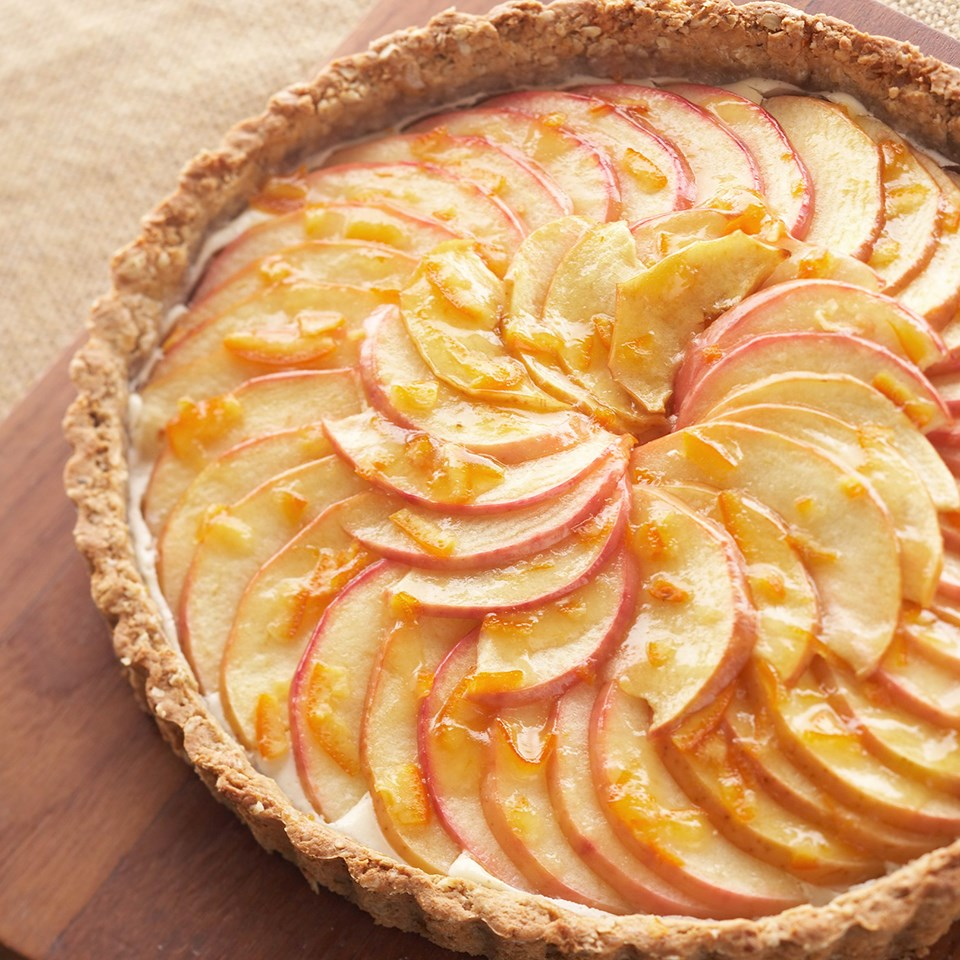 gorgeous apple tart