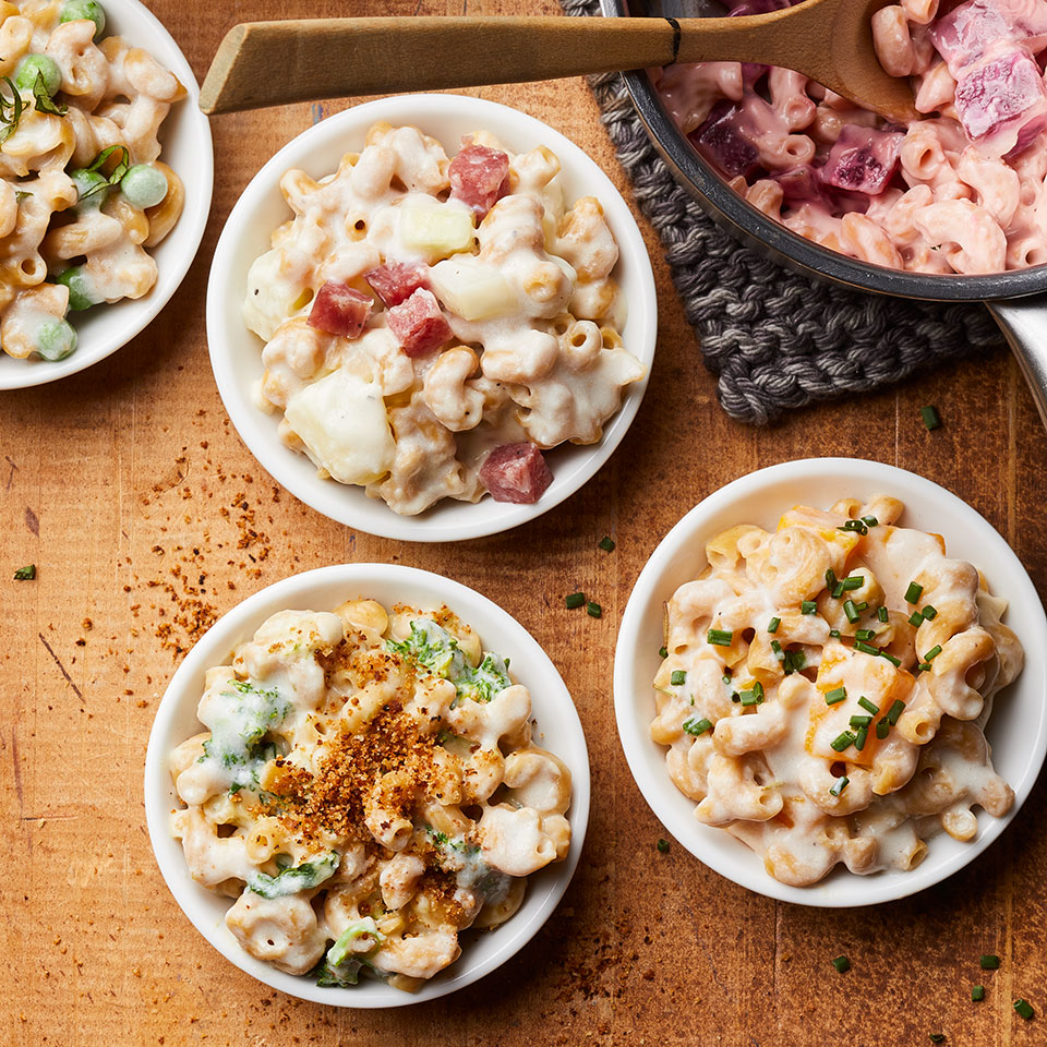 healthy stove top mac & cheese