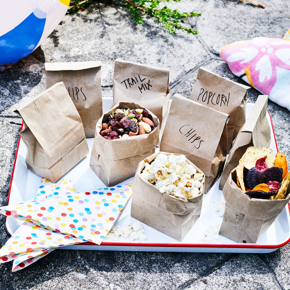 Individual snack bags