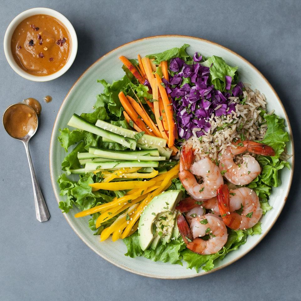 Healthy Lunch Salads for Work