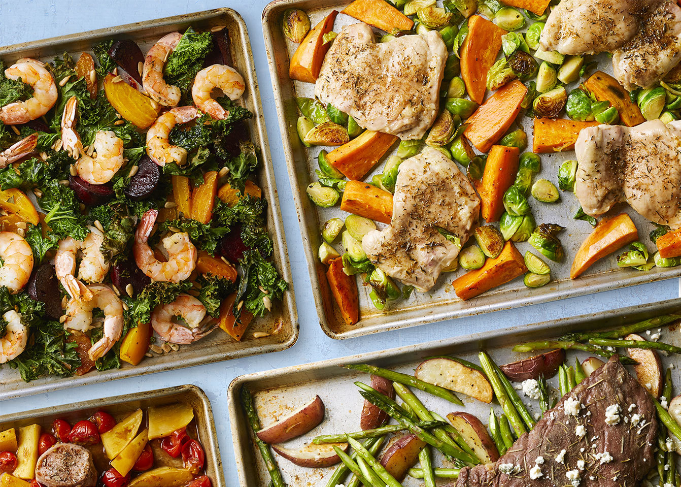 The Best No-Recipe Formula for Making Easy Veggie-Packed Sheet-Pan Dinners
