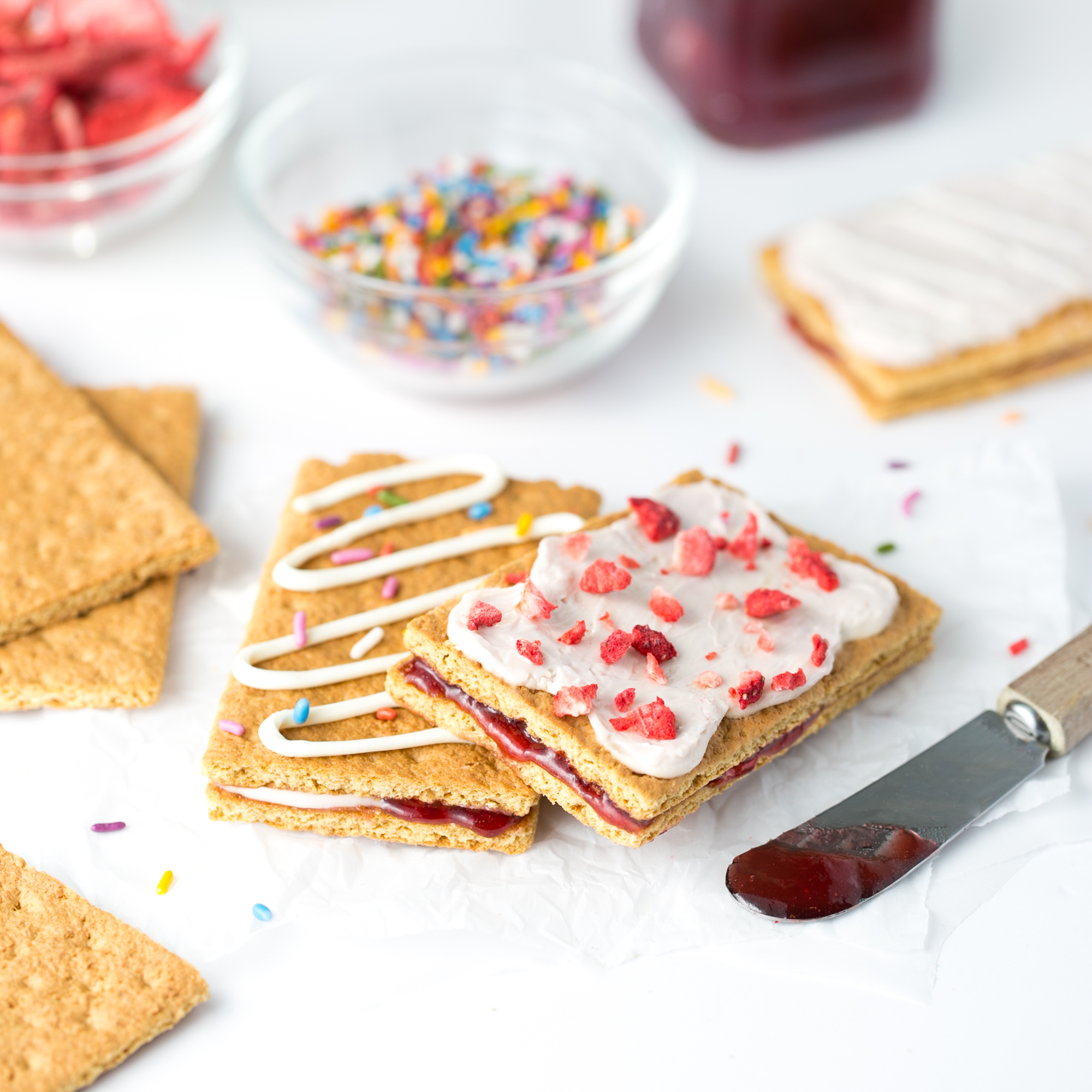 Healthy Toaster Pastries Snack