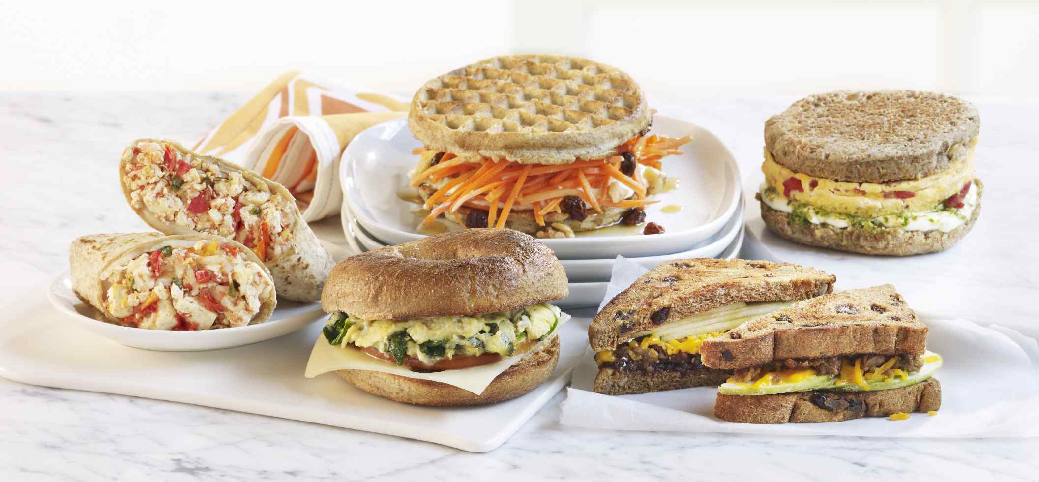 healthy breakfast sandwich options