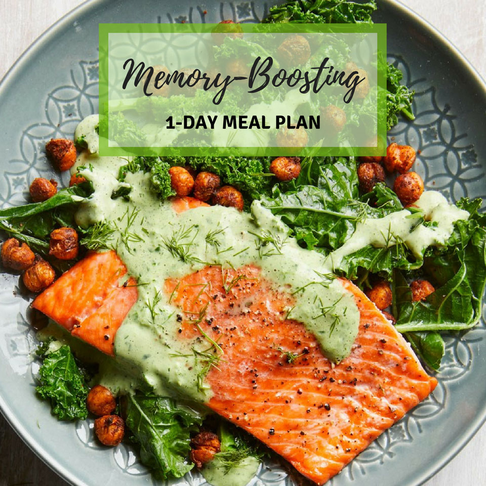 1-Day Healthy Memory-Boosting Meal Plan
