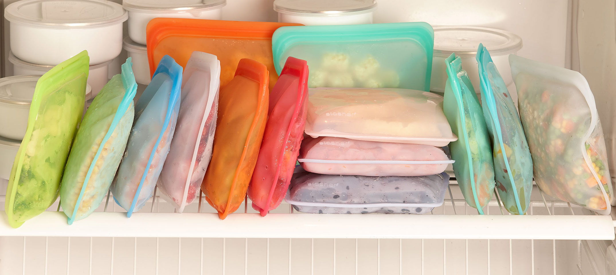 stasher food storage bags