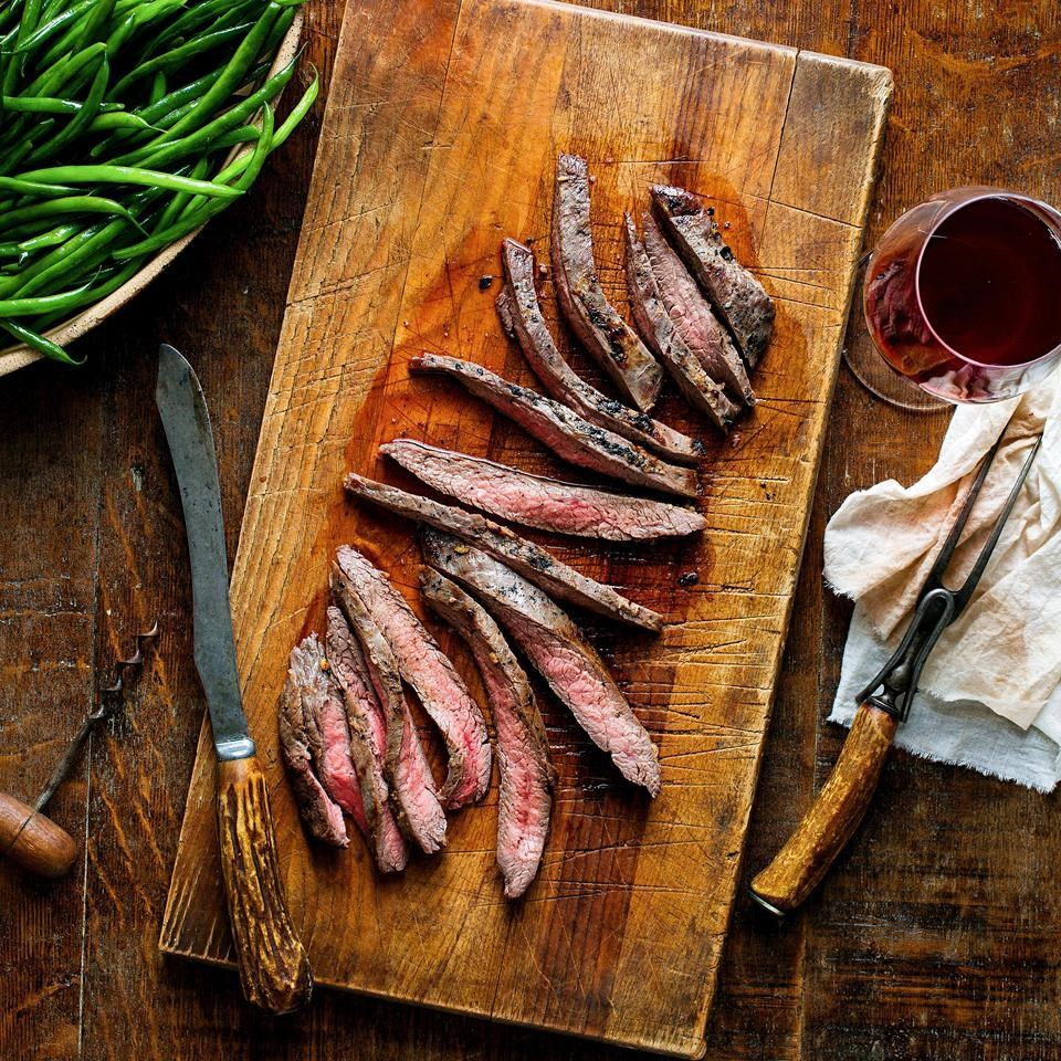Miso-Marinated Flank Steak