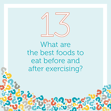 What Foods Should I Eat Before and After Exercise?