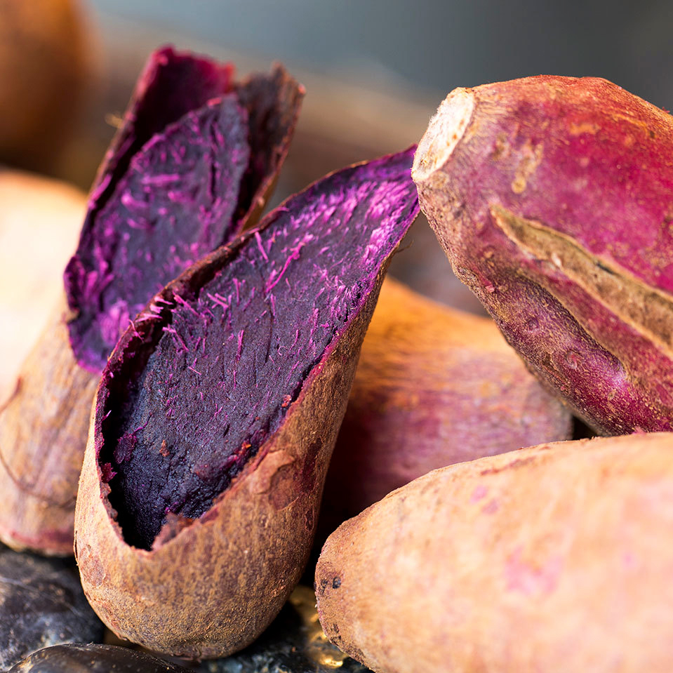 okinawan purple sweet potato