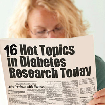 Diabetes Research Sparks Awareness