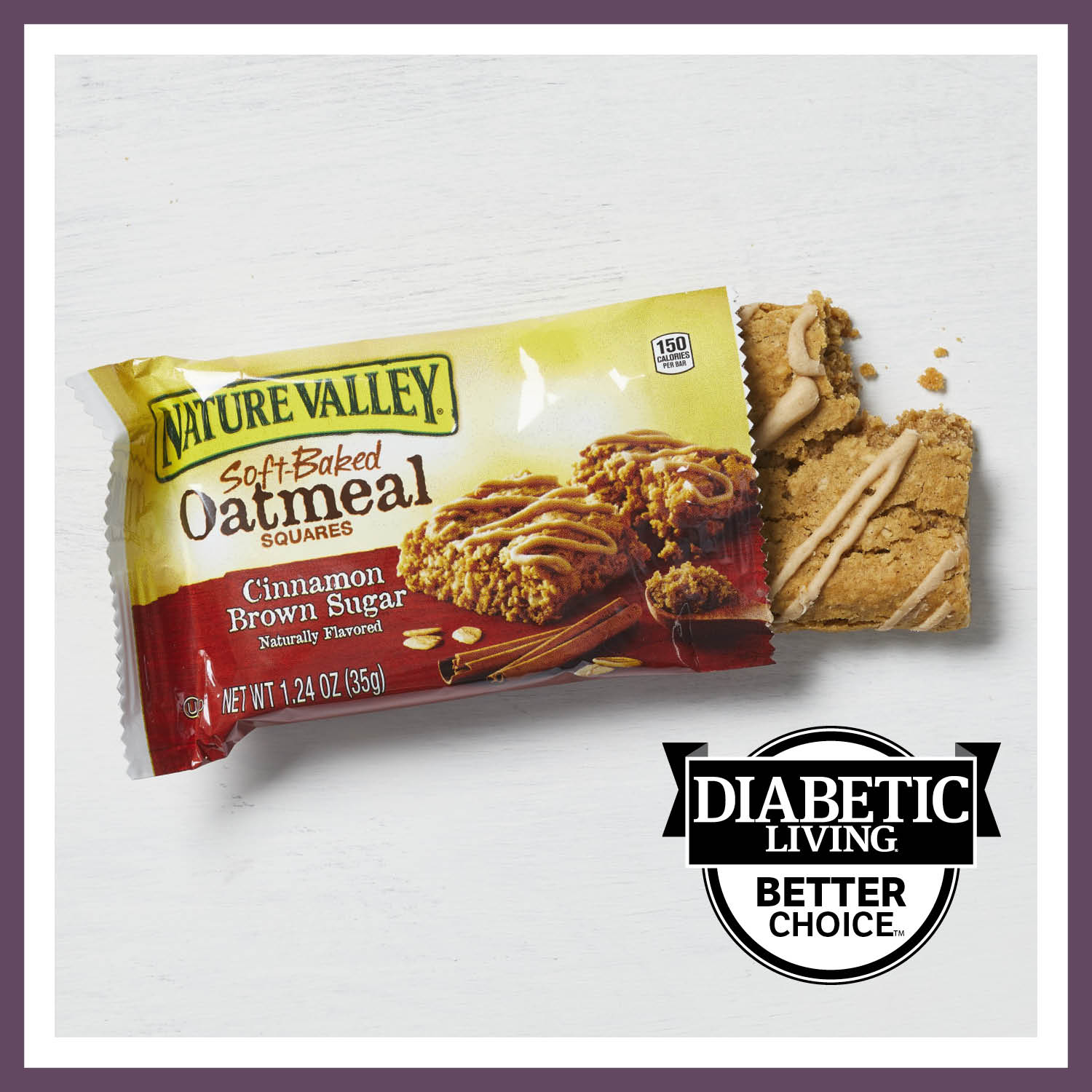 Best Breakfast Bar: Nature Valley Cinnamon Brown Sugar Soft-Baked Oatmeal Squares