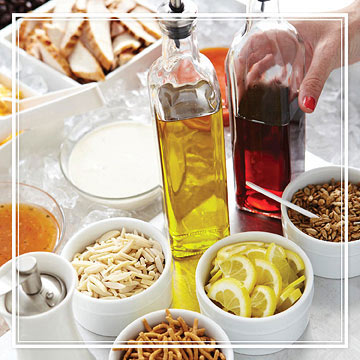 Limit Dressing to 1 Tablespoon per 2 Cups Salad