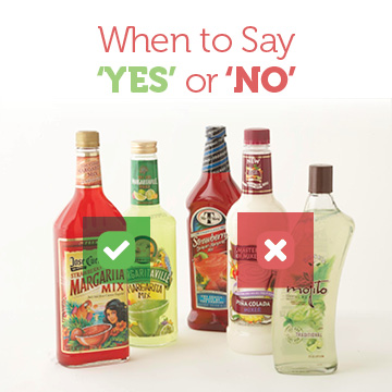 When to Say 'Yes' or 'No' to Alcohol
