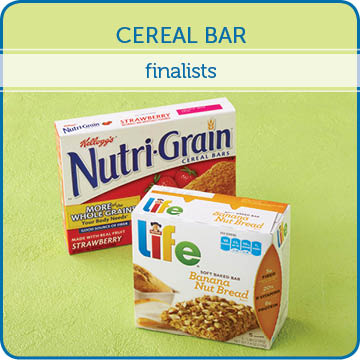 Cereal Bar Finalists