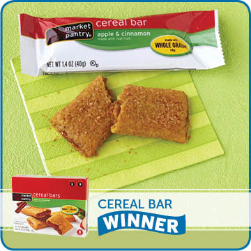 Cereal Bar Winner