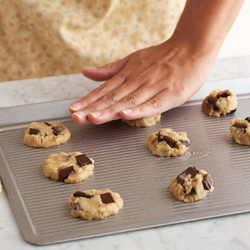 Flatten Cookie Dough