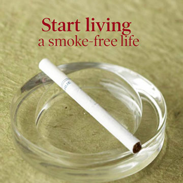 Stop Smoking to Lower Cholesterol