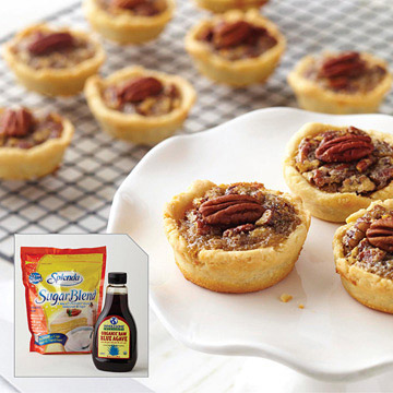Mini Maple-Pecan Pies