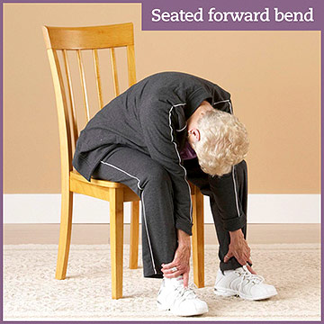 Flexibility Exercise: Seated Forward Bend
