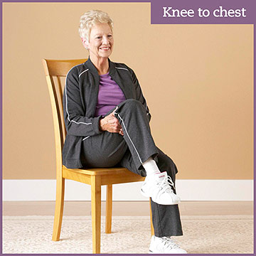 Flexibility Exercise: Knee to Chest