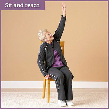 Flexibility Exercise: Sit and Reach