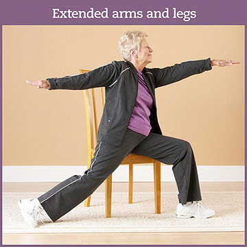 Flexibility Exercise: Extended Arms and Legs