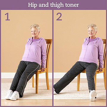 Strength Exercise: Hip and Thigh Toner