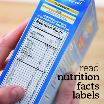 Pay Attention to Nutrition Facts Labels