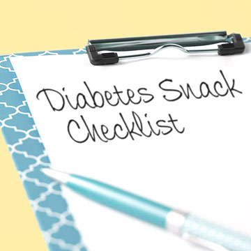 Snack Requirements for People with Diabetes