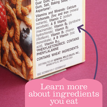 Misleading Advice: Don't eat it if it has ingredients you can't pronounce.
